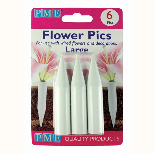 Large flower setting supports