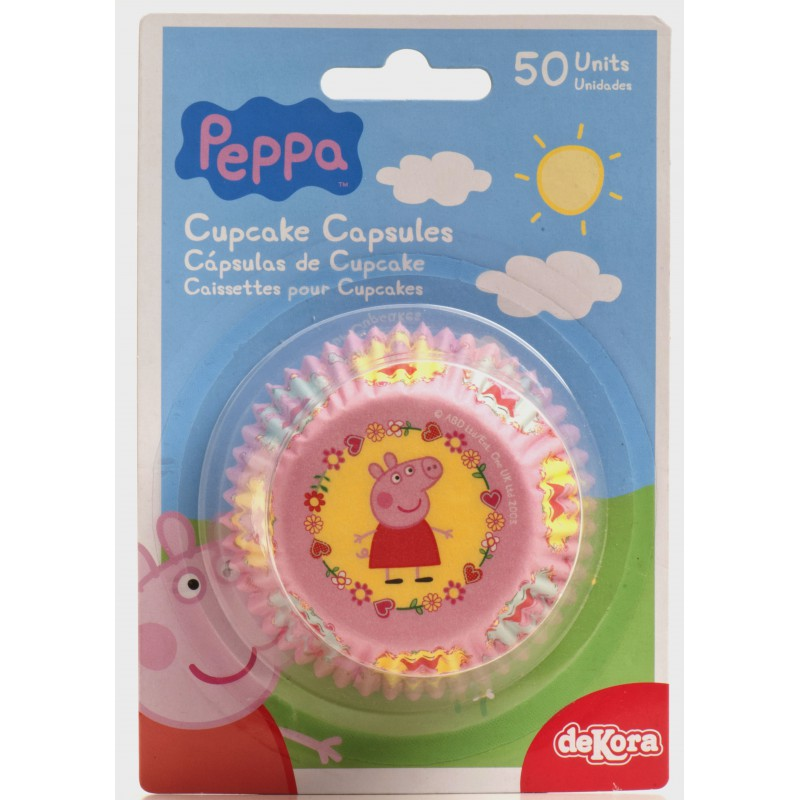 Peppa pig paper liners