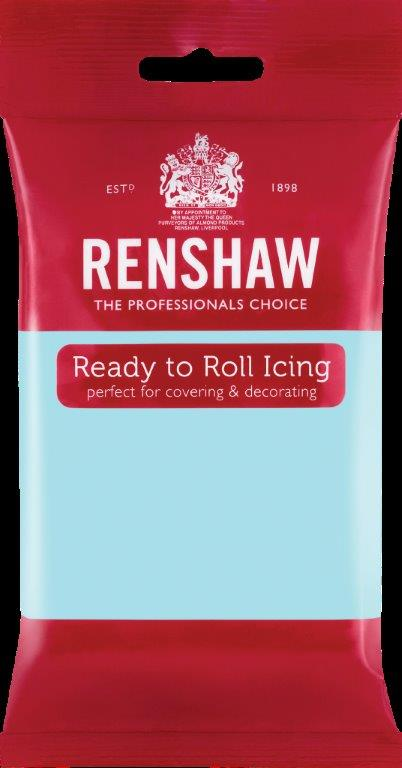 Extra Sugar paste – Duck egg blue – Renshaw Best use before 05/2018
