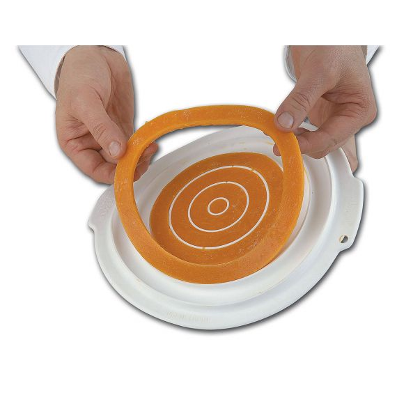 Insert silicone rond double face - Moule Silikomart