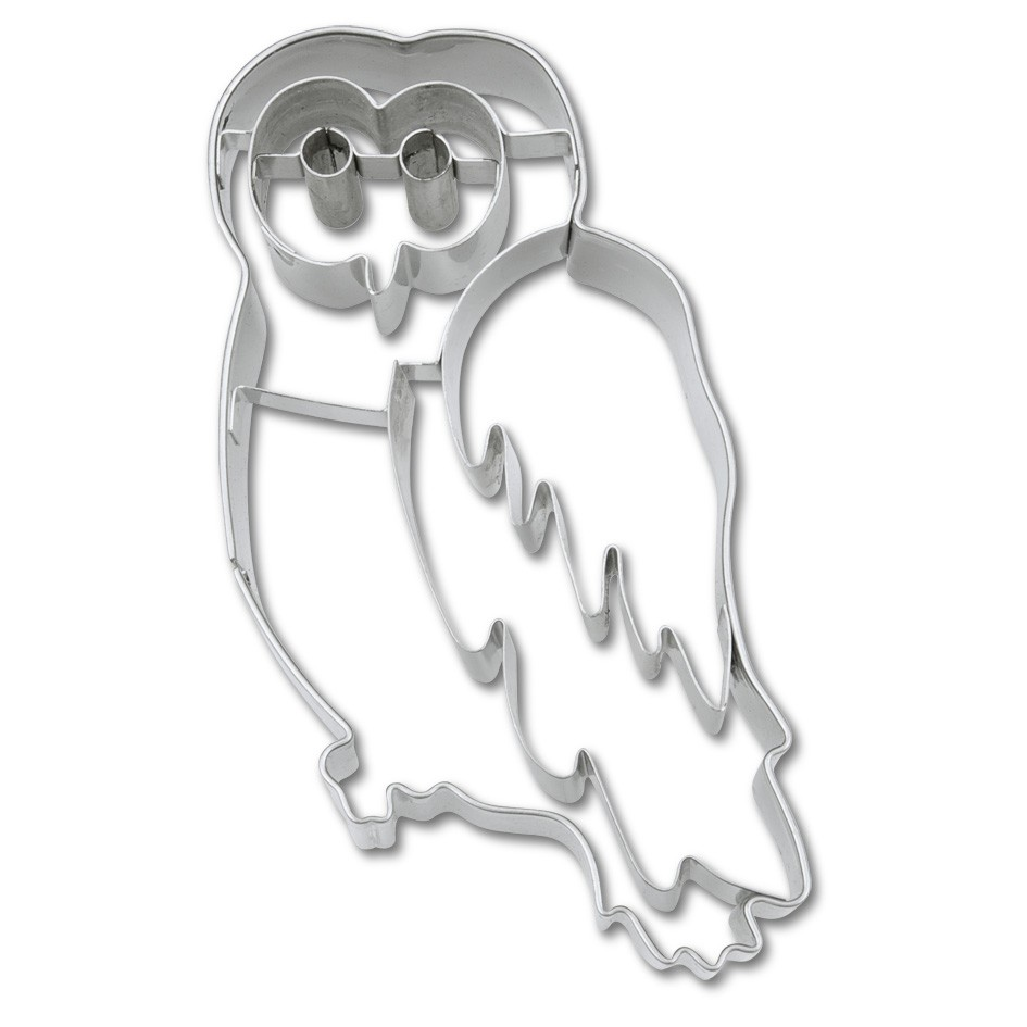 Owl cookie cutter**