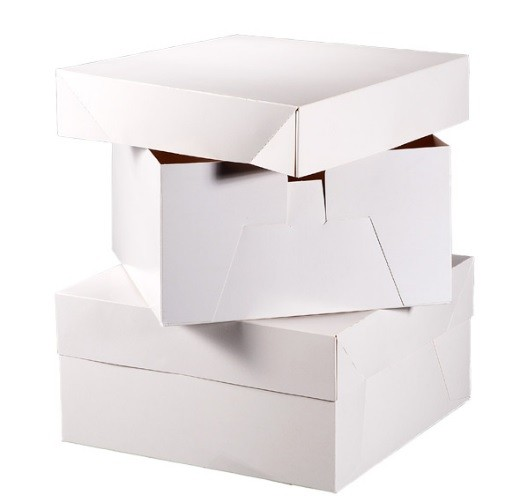 10 Boxes for wedding cake  35.5 x 35.5 x 15 cm