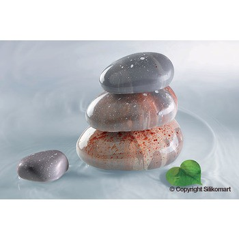 Silikomart Professionnel mould – Relaxing shapes x6