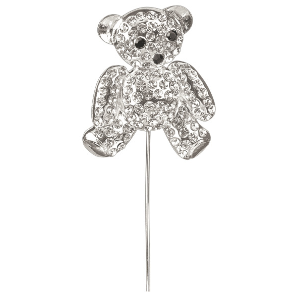 Rhinestone teddy bear