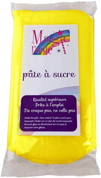Magic Paste YELLOW Sugarpaste 250g