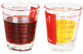 Small measuring glass
