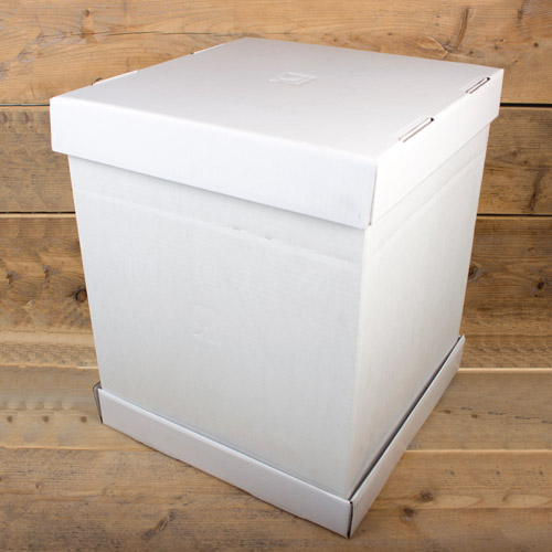Box for transporting cakes 37 x 37 x 45