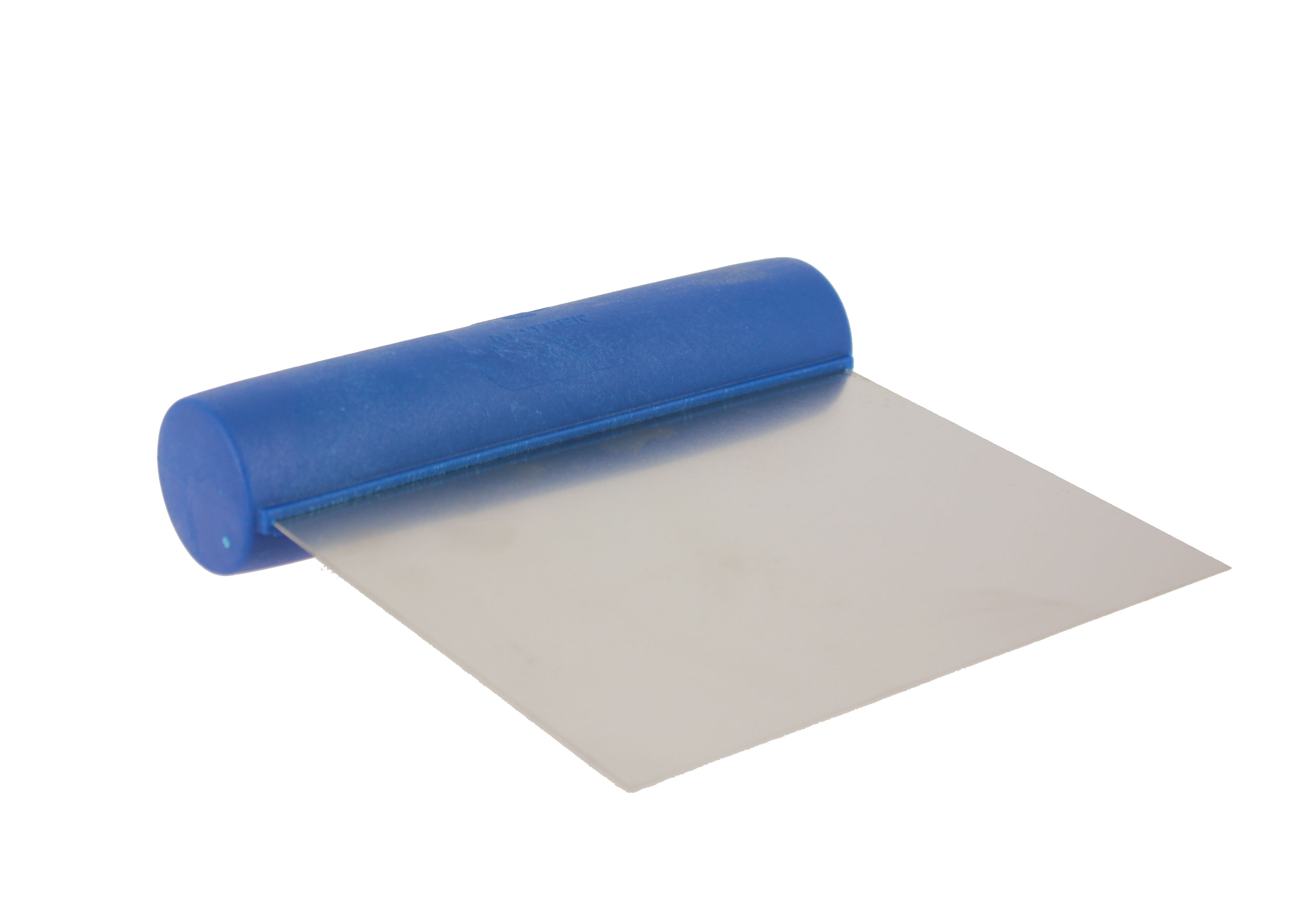 Straight dough cutter in Stainless steel