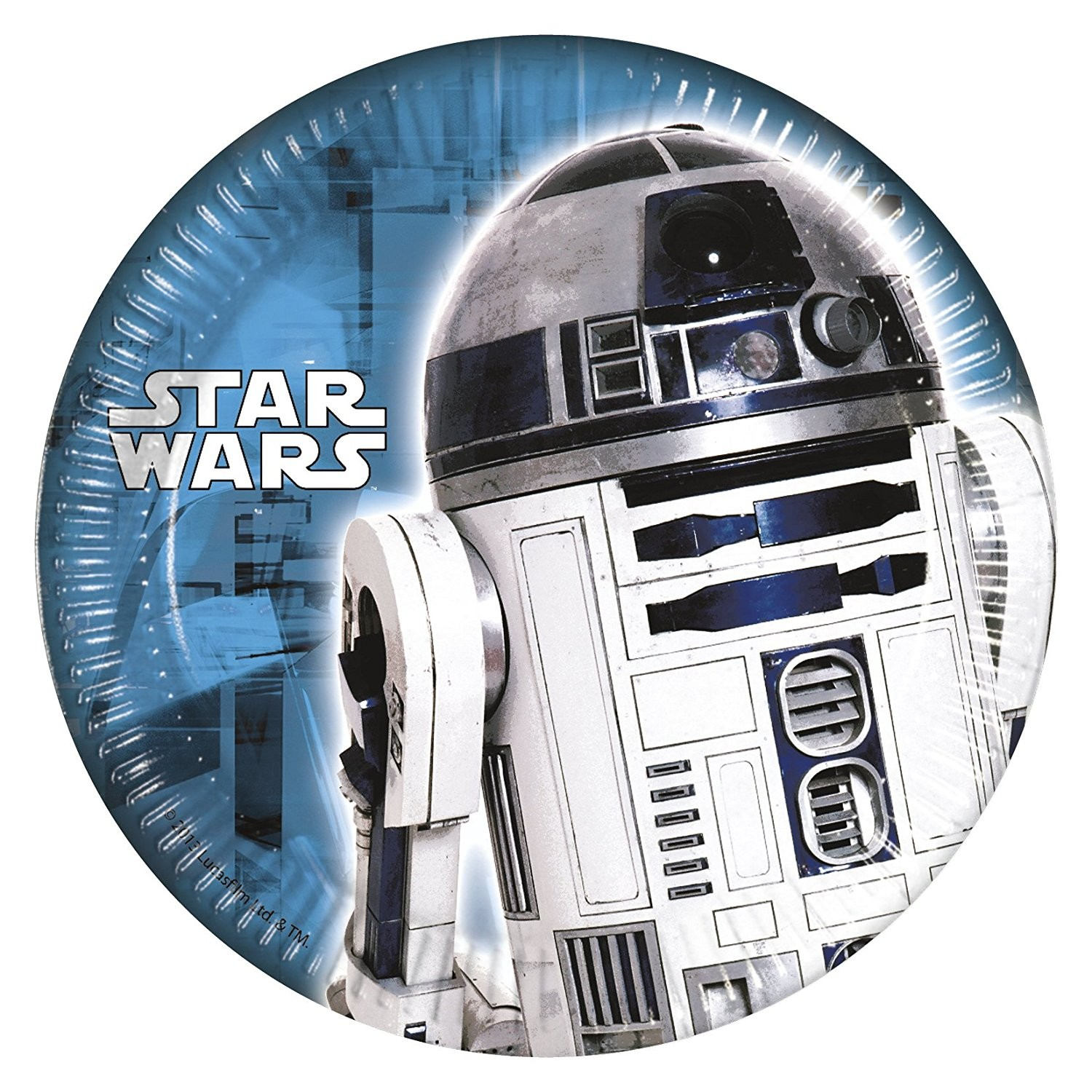 Assiettes R2D2 Star Wars
