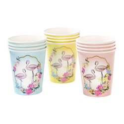 Gobelets Flamants roses