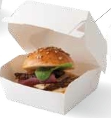 Small burger box x 5**