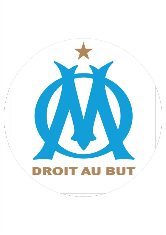 Carte But Retractation.Om Football Club Wafer Sheet
