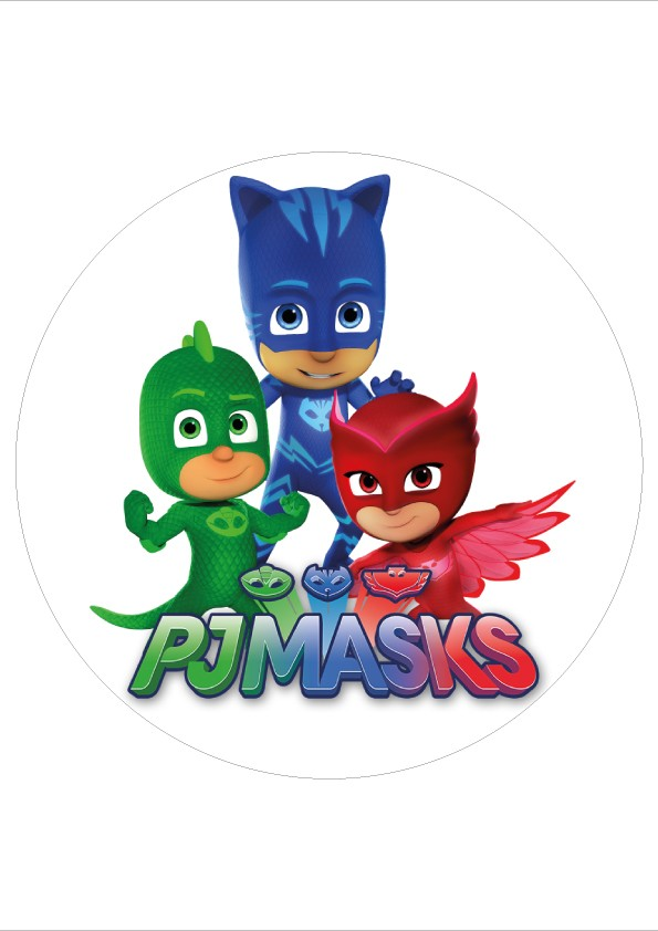 PJ Mask wafer sheet