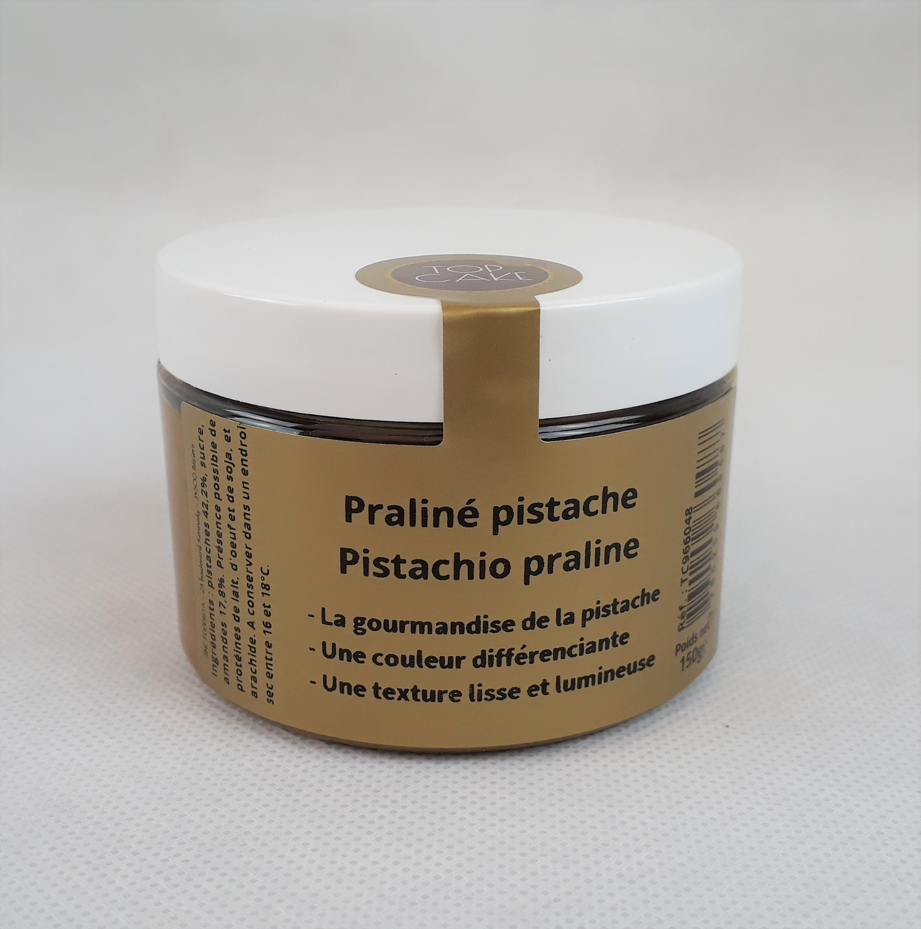 TopCake for Valrhona Pistachio praline mix 42%
