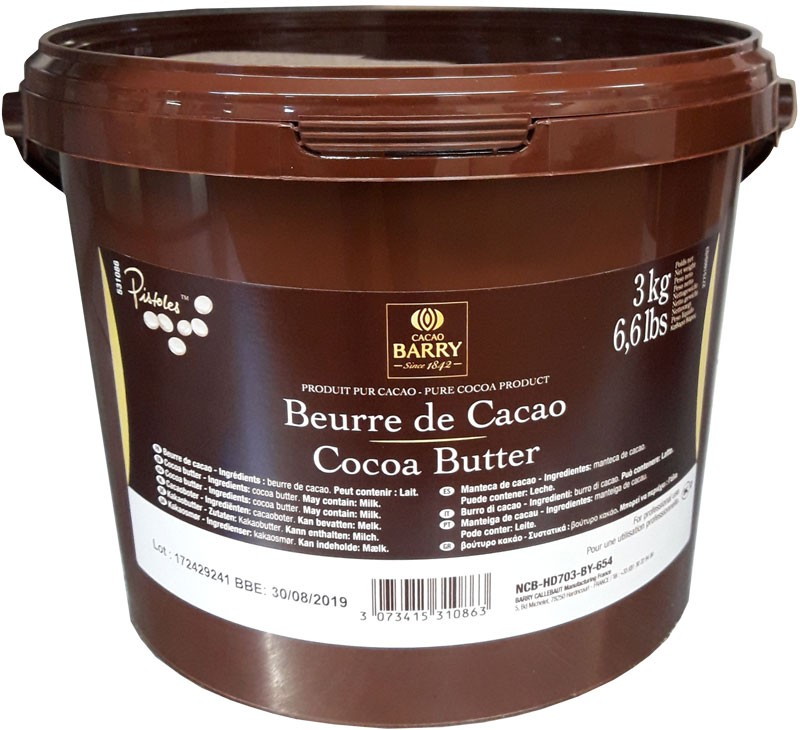 Barry Cocoa butter doubloons – 3kg @