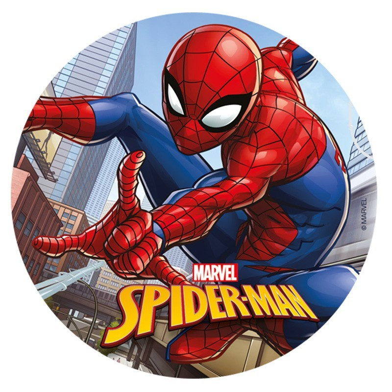 Spiderman Wafer disk