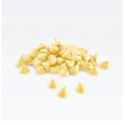 White Chocolate Nuggets 24% Valrhona 13lb 3.64 oz.@