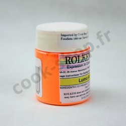 Colorant Rolkem Poudre Fluorescent Orange - Arc Chrome 20 g