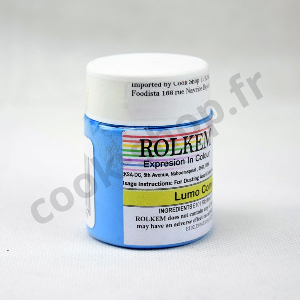 Fluorescent Comet Blue food colouring powder20g
