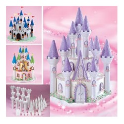 Wilton Castle cake set
