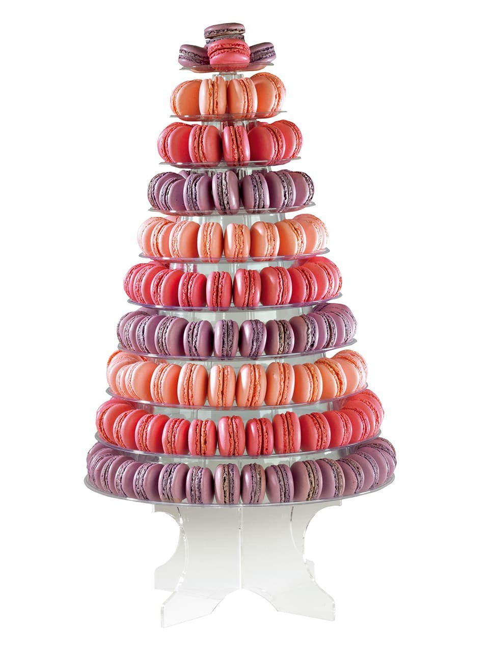 Pyramid stand for macarons @