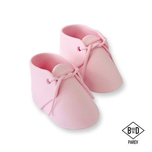 Pink sugar baby bootee