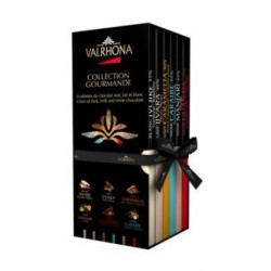 6 Tablettes Collection Gourmande Valrhona