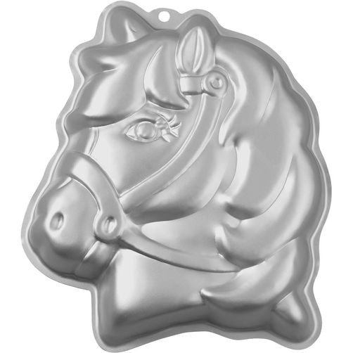 Horse head - Unicorn Aluminium mould Wilton@