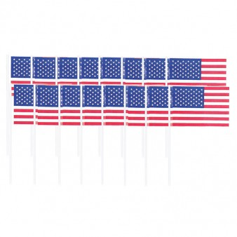 USA flag picks x 120