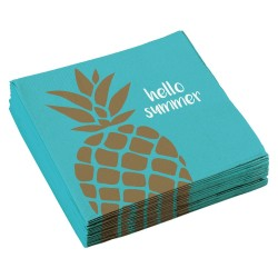 Serviettes Ananas Hello Summer