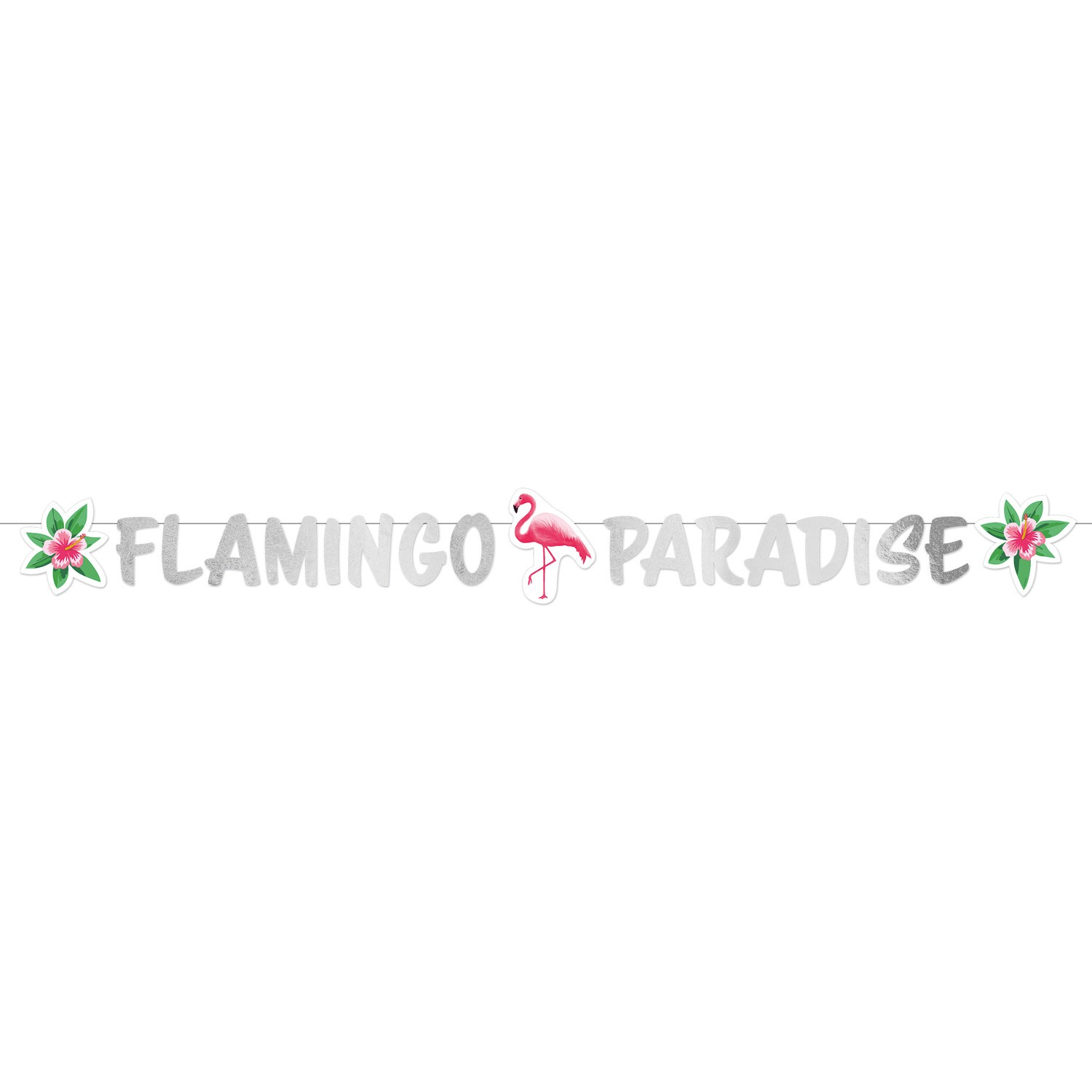 Flamingo Paradise – Greater flamingo garland