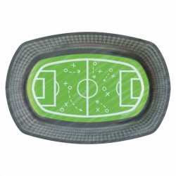 6 Assiettes Terrain de Foot