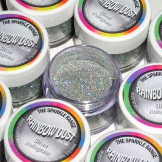 Rainbowdust Hologram Silver decorative sparkles – Sparkle Range