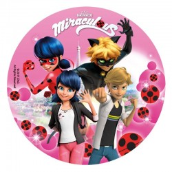 Disque Azyme Miraculous Lady Bug