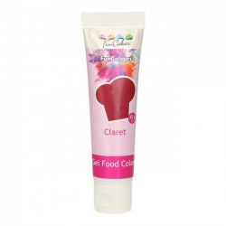 Colorant Alimentaire Gel Claret Funcakes