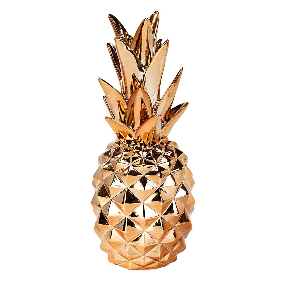 Decorative resin pineapple
