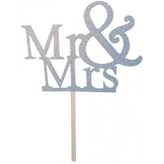 Mr & Mrs Topper Argent - TopCake