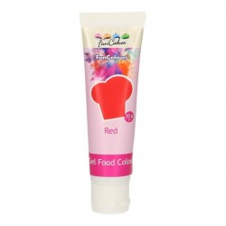 Colorant Alimentaire Gel Rouge Funcakes