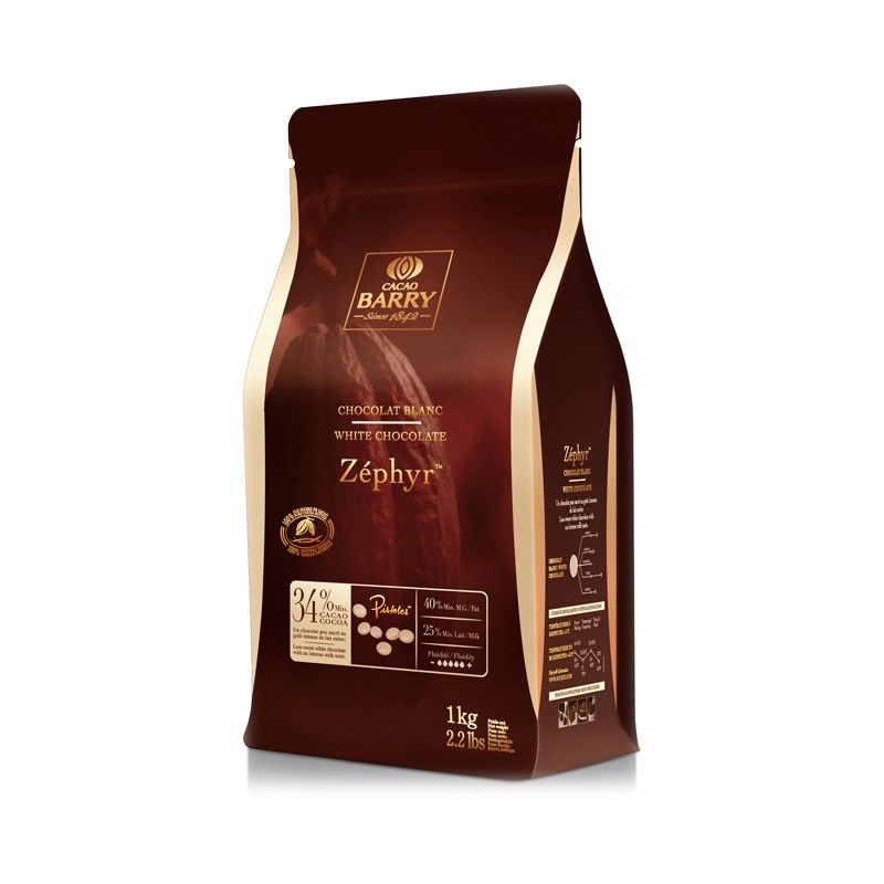 BARRY – ZEPHYR BLANC  (cocoa 35.3%) 1KG