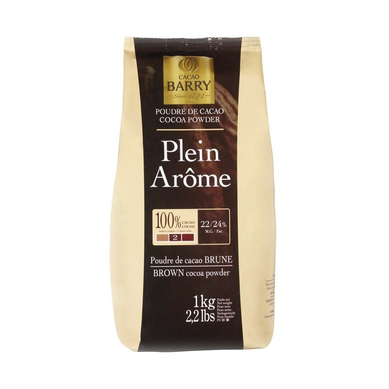 BARRY - PLEIN AROME (cocoa powder) the brownest 1KG