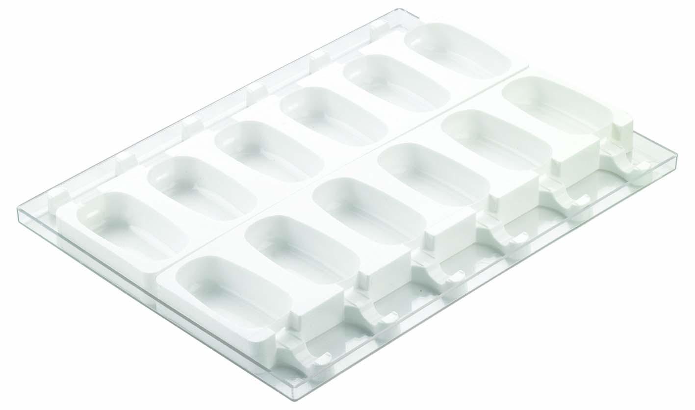 Steccoflex Classic Ice cream mould x12
