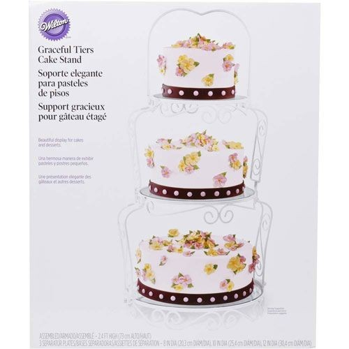 Wilton 3-tier cake display @