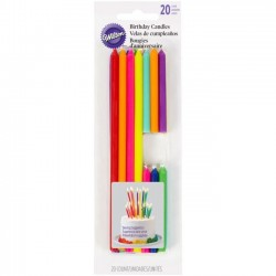 Bougies Multicolore Wilton @