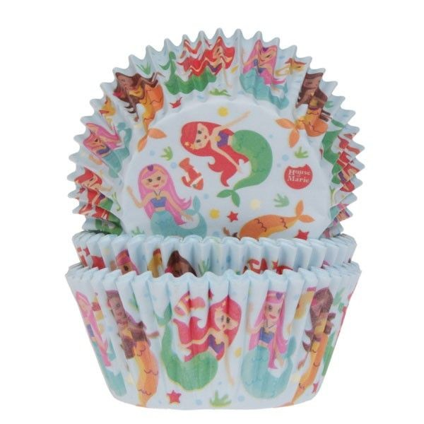 Mermaid baking cup @