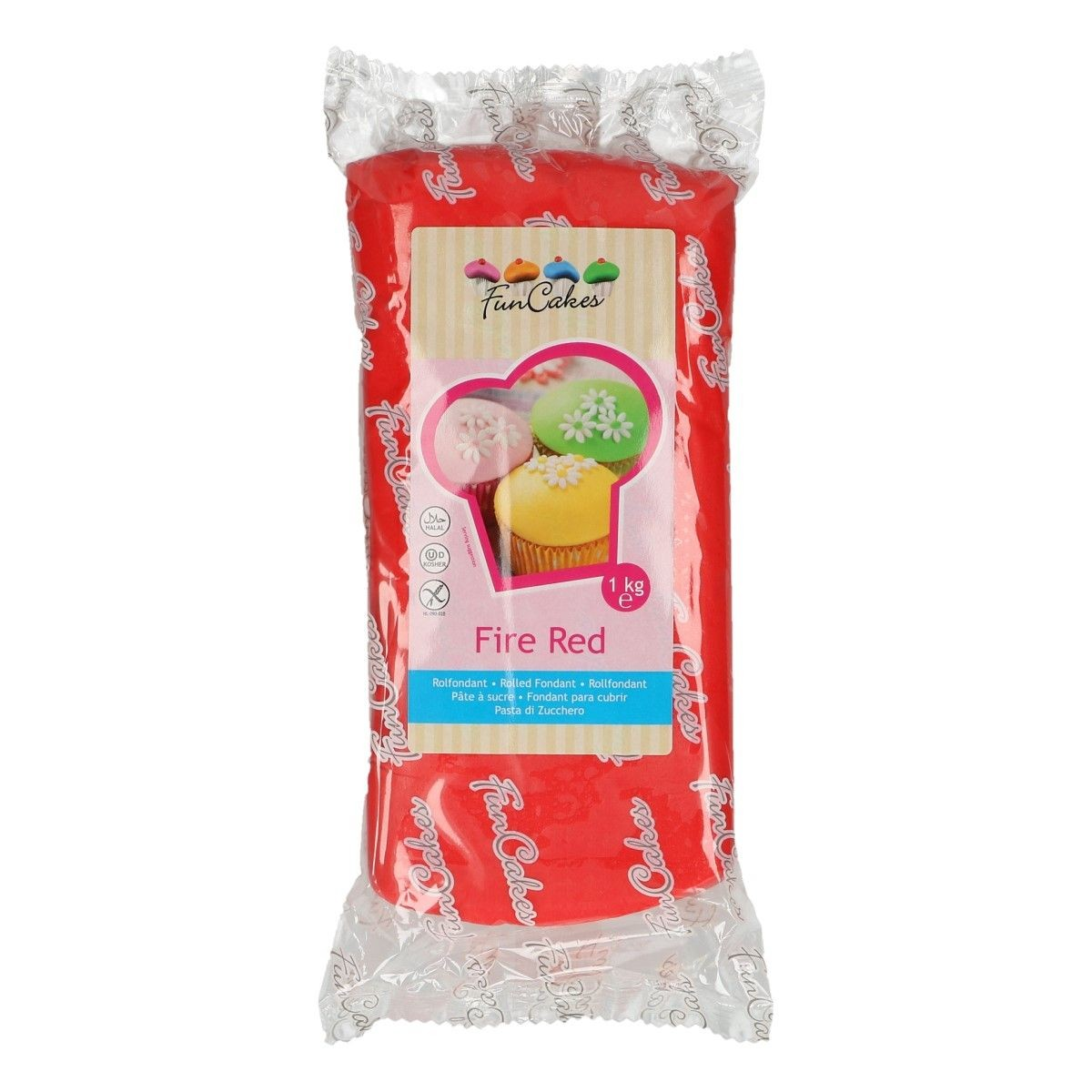 Funcakes red sugar paste1 kg