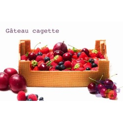 Gabarit Cagette de Fruits A3