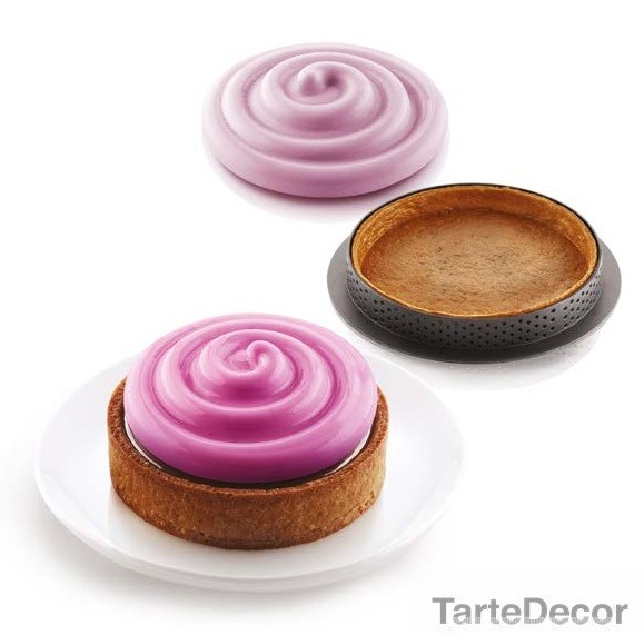 Silikomart Mini Twist Pie kit