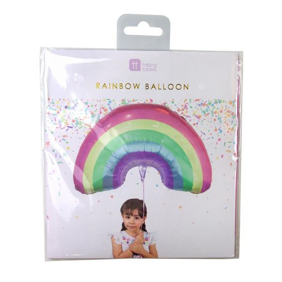 Ballon arc-en-ciel