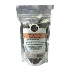 TopCake - Three chocolate chunk mix 300g