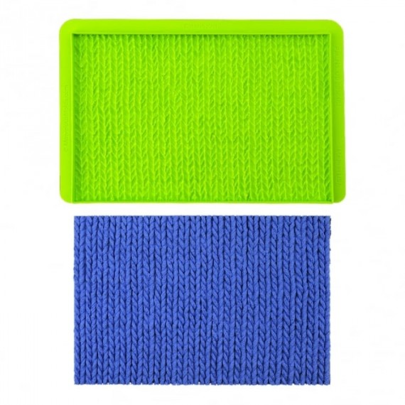 Moule silicone tricot laine